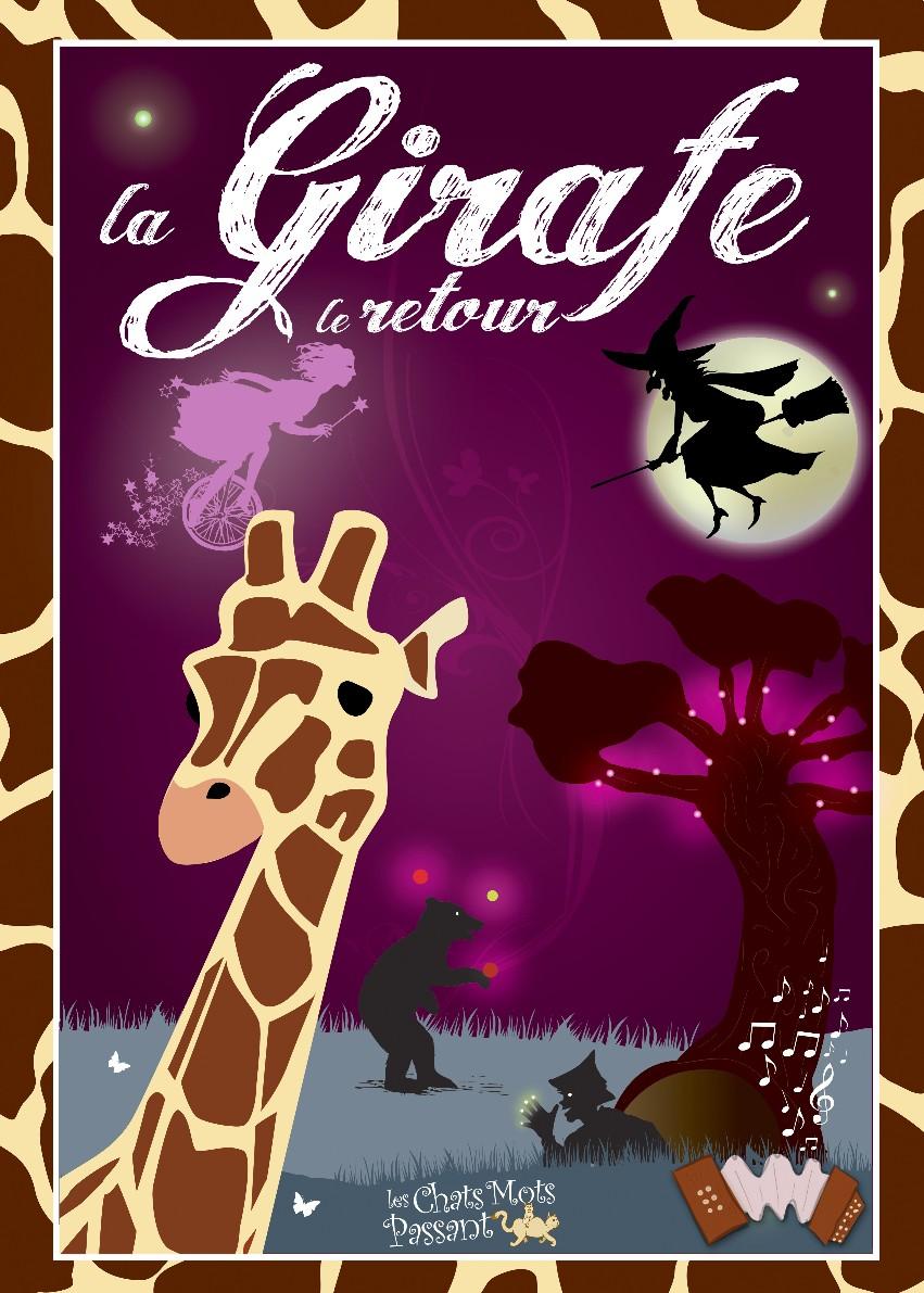 spectacle enfant La Girafe, le retour