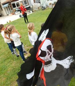 Anniversaire pirate Bassin Arcachon
