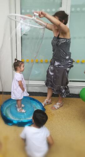 événements bulles de savon géantes