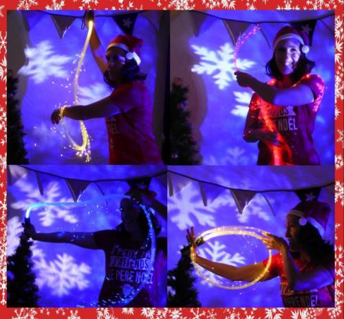 Spectacle Noel Led lumineux