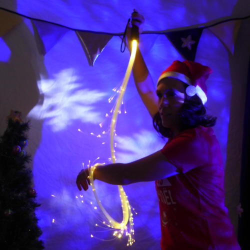 Spectacle Noel Lumière fantastique