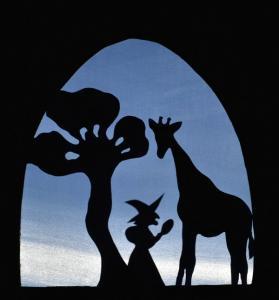 théatre ombre spectacle pour enfant la girafe